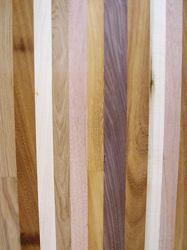 wide variety of timbers