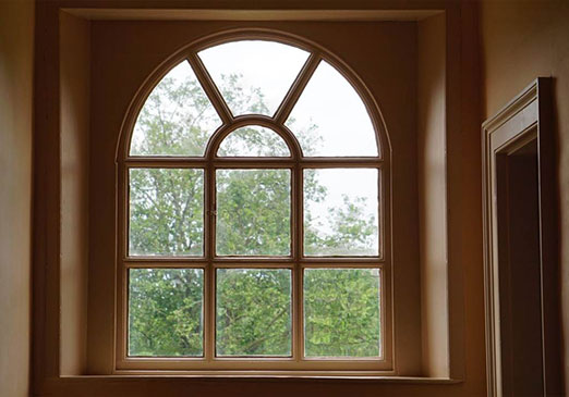 Windows in all shapes and sizes